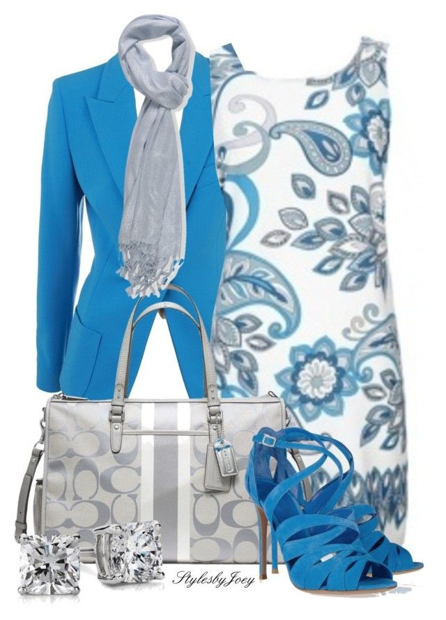"""Paisley Dress"" by stylesbyjoey ❤ liked on Polyvore"