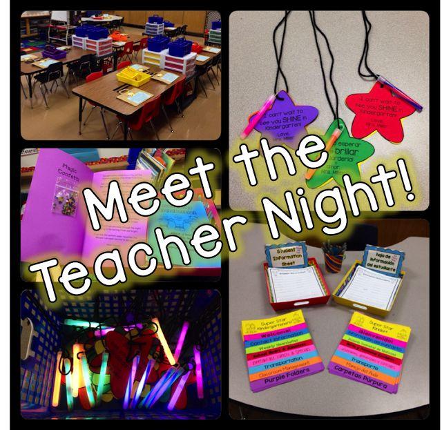 Meet the Teacher Night FREEBIES