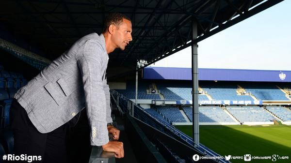 QPR公式Twitterアカウント、 FERDINAND SIGNS FOR #QPR: @premierleague legend @rioferdy5 signs one-year contract