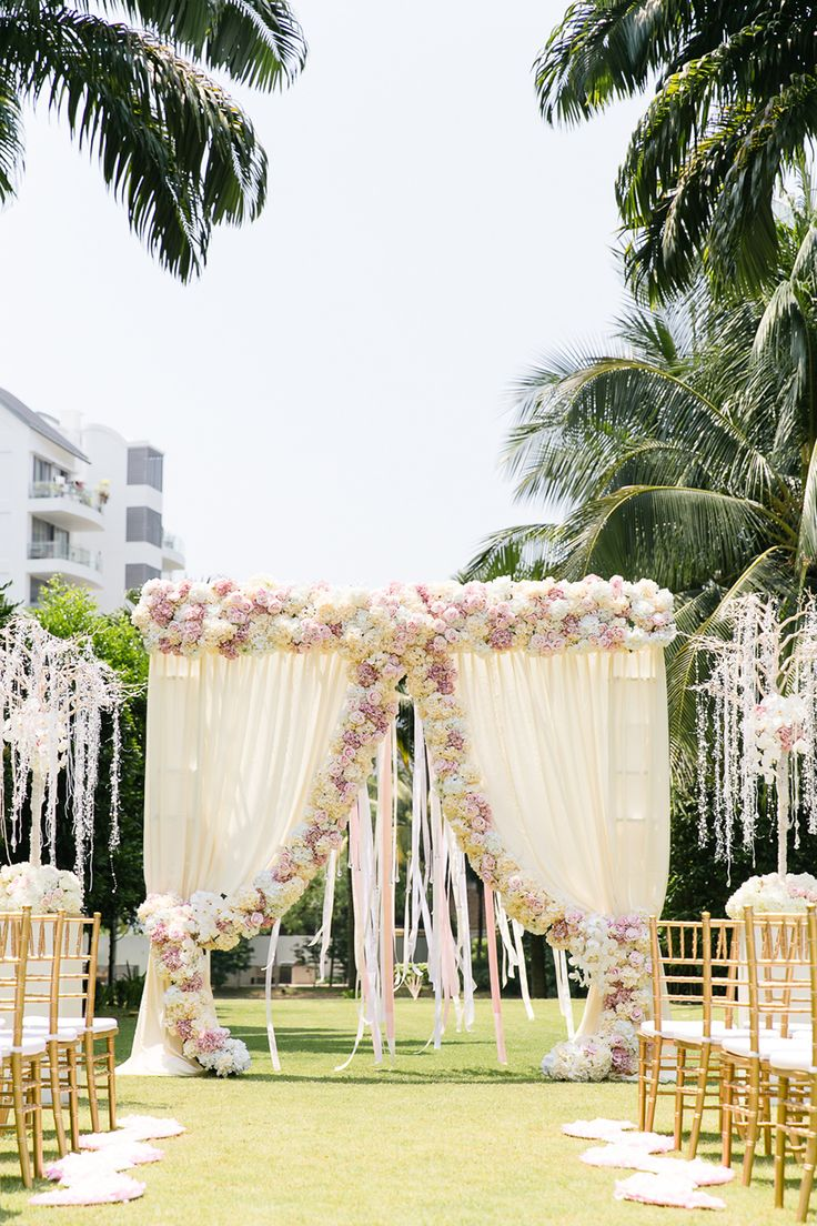 An Affair To Remember A Luxurious Styled Shoot At W Singapore Wedding Ceremony