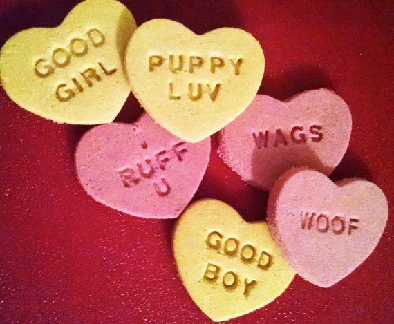 Valentine S Day Dog Treats Conversation Hearts Healthy Soft