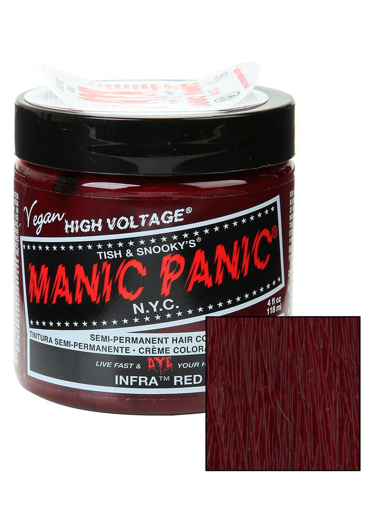 Manic Panic Infra Red Classic Cream Hair Dye | Hot Topic