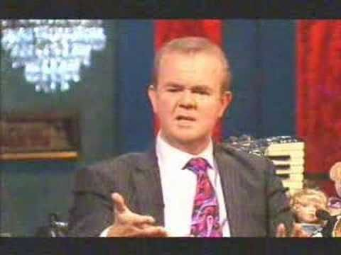 """Ian Hislop on Paul Merton's last Room 101. Ian tries to but in his """"arch nemesis"""" Piers Morgan into Room 101. Funny ending      Of course I do not own this material, all copyright reserved by the BBC"""