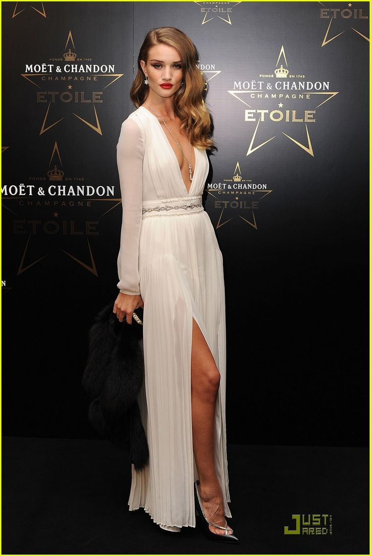 Rosie Huntington Whiteley...love this look.  Sexy yet elegant