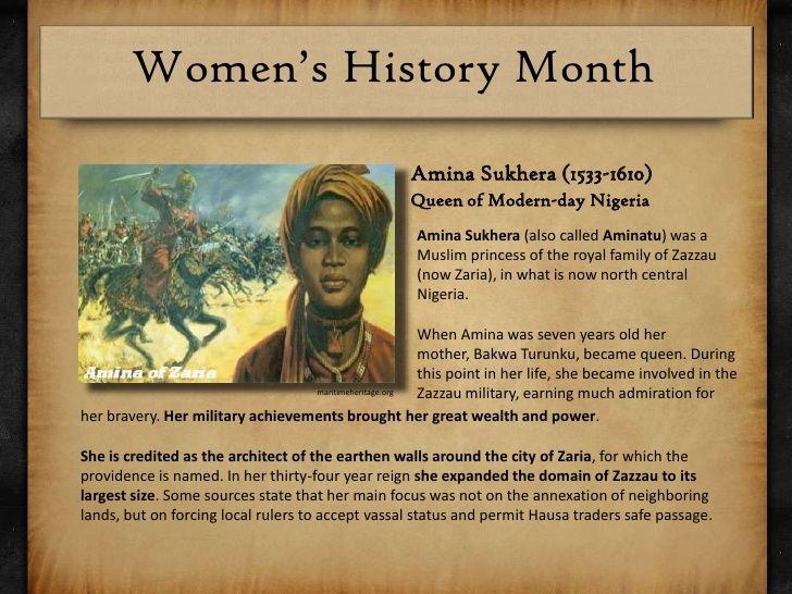 Queen Amina of Zazzau: