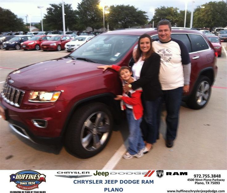 Congratulations to Tiago Pereira on your #Jeep #Grand Cherokee purchase from Barry Neal at Huffines Chrysler Jeep Dodge RAM Plano! #NewCar