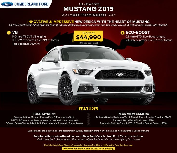 All-New Ford Mustang 2015 - Ultimate Pony Sports Car