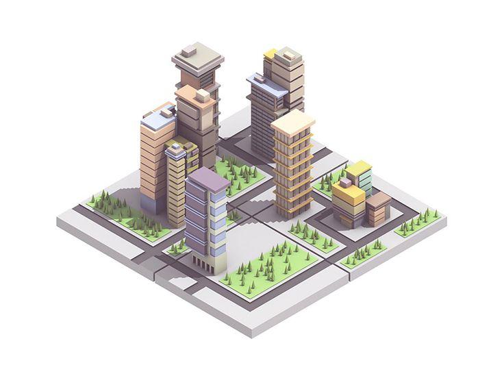 City by Timothy J. Reynolds #Design Popular #Dribbble #shots