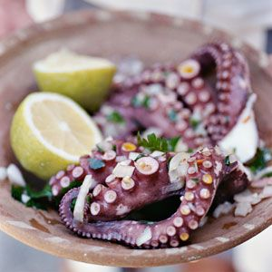 #greek #food #octapus