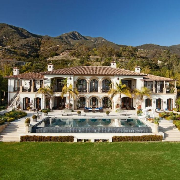 Pin By Nora Mhaouch On Dream Houses: Elegant Montecito Home With Stunning Panoramas