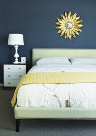 blue wall bedroom - Google Search