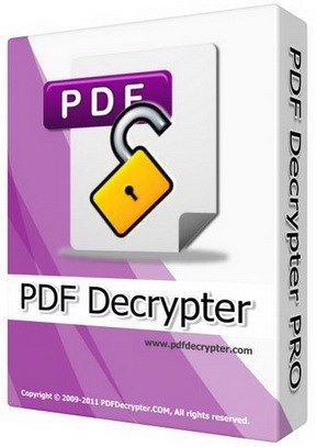 PDF Decrypter Pro 4 Crack Patch Keygen Free Download