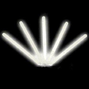 "Amazon.com: 4"" Lumistick Glow Stick Light Sticks White (Tube of 25): Toys & Games"