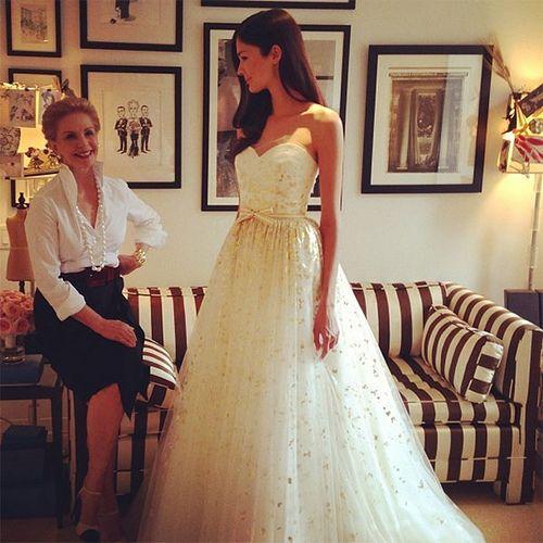 elegantWedding Dressses, Fashion Weeks, Bridal Fall, Carolina Herrera, Bridal Gowns, Fall 2014, Bridal Fashion, Dreams Dresses, Carolinaherrera