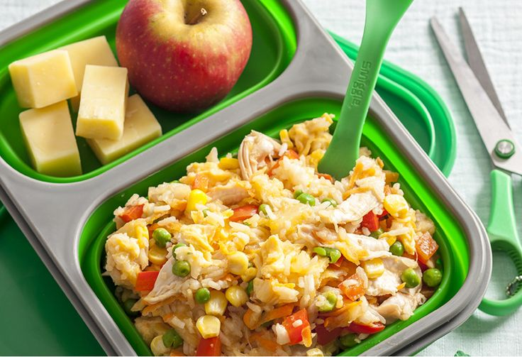 If you want to up your lunch game at work, this one is for you! The chicken rice can be made ahead then frozen in freezer and defrosted the night before eating.