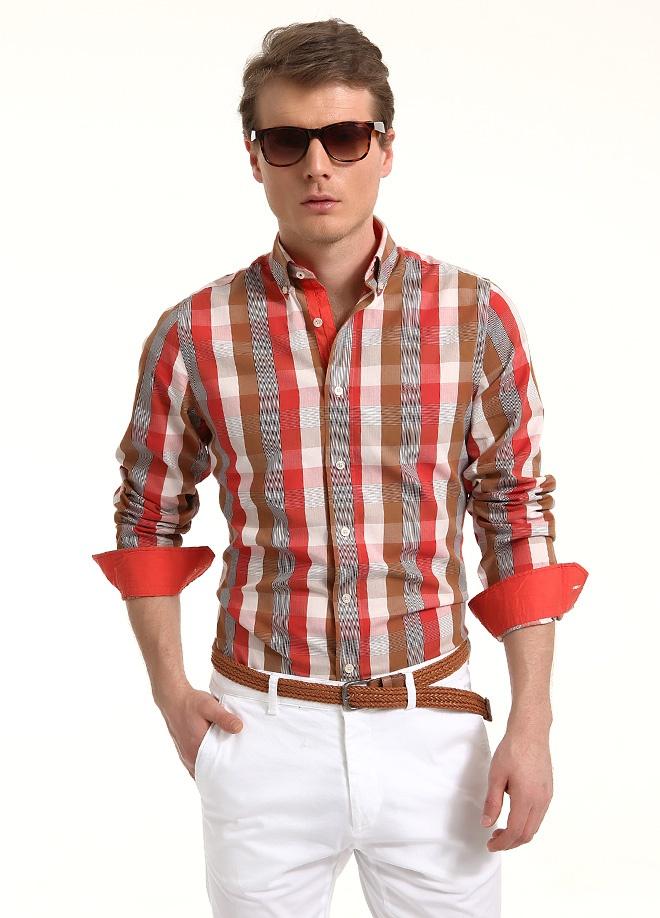 Sateen Men Yıkamalı ekose gömlek Markafonide 119,90 TL yerine 59,99 TL! Satın almak için: http://www.markafoni.com/product/3797881/