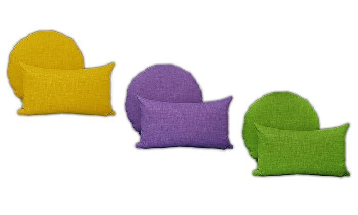 Cuscini Memory Groupon.Recensione Deal Groupon It Set Di 2 Cuscini Arredo Multicolor