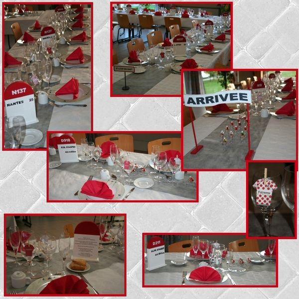Exemple d co de table th me v lo deco de table exemple for Decoration en france