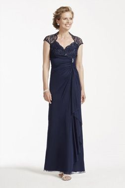Mother of the Bride Dress Style 644588D by David's Bridal