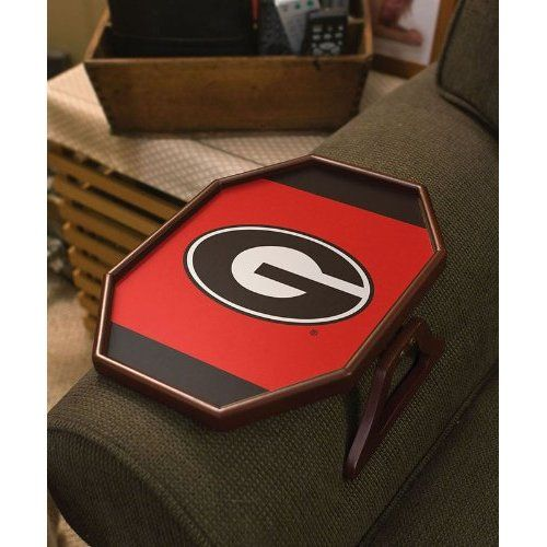 Evergreen Enterprises Georgia Bulldogs Armchair Tray