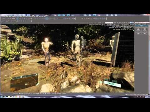Custom 3D zombie game character for CryEngine 3 Free SDK #Custom3Dzombie