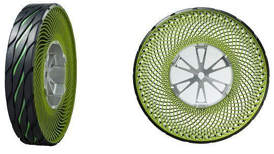 Airless Tire Concept by Bridgestone