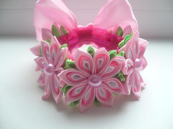 Elastic beam Hair Bun Wrap Wrap Flower Bun elastic band