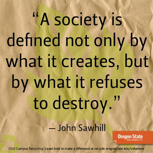 sustainability quote #usuextensionsustainability