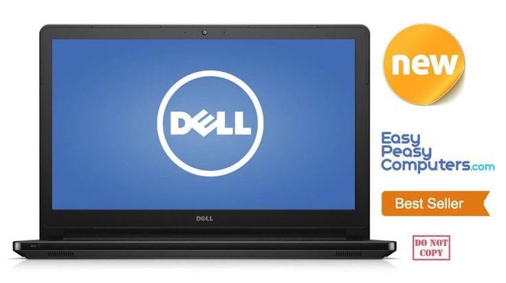 "NEW DELL 15.6"" Laptop FAST 4GB RAM, 500GB DVD+RW HDMI Webcam WiFi (FULLY LOADED) #HP"