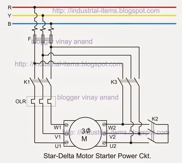 3 Phase Starter Wiring Diagram In 2021, Schneider Star Delta Starter Wiring Diagram