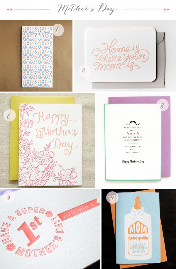 Seasonal Stationery Mother S Day Cards