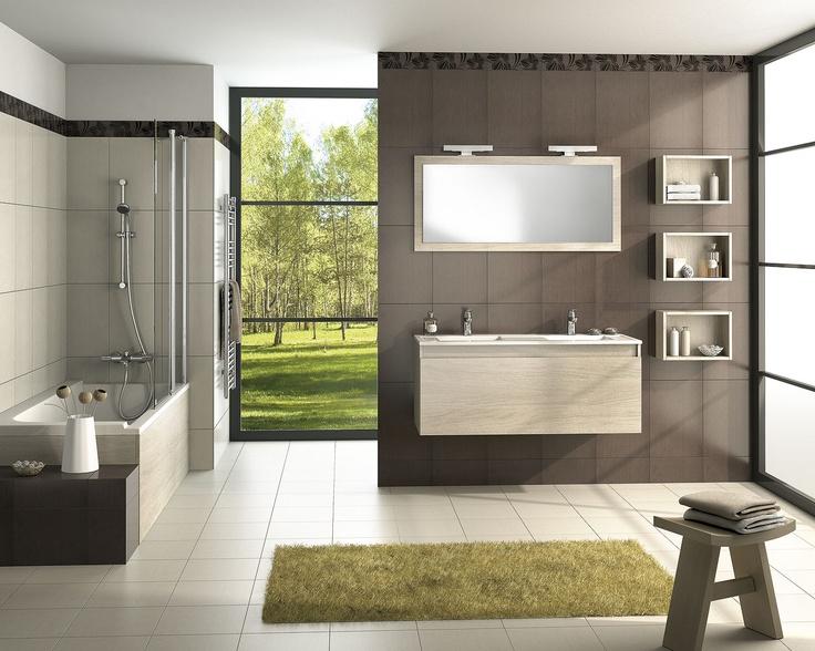 Les 85 meilleures images propos de carnet d 39 id es salle de bain sur pinterest carnet salle - Espace aubade salle de bain ...