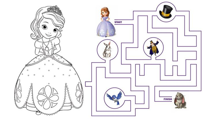 Princess Sofia Coloring Pages Games : Best images about sofia the first on pinterest disney