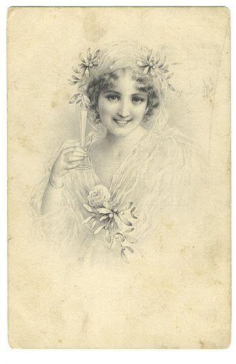 Vintage lady: