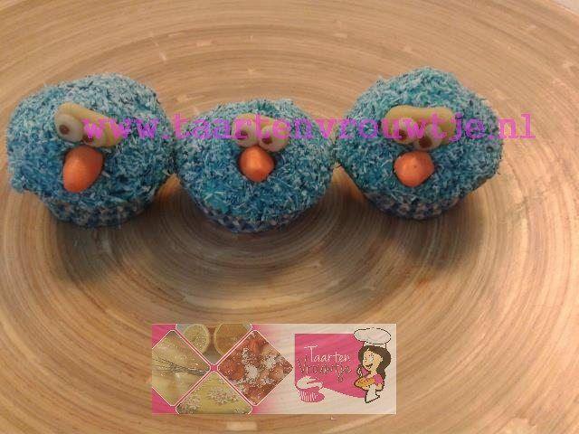 Pino cupcake van taartenvrouwtje.nl