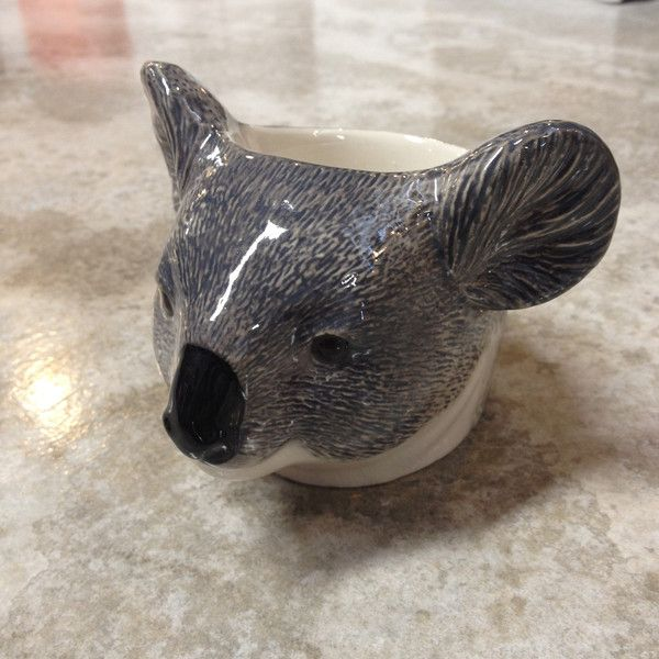 Quail ceramics animal face egg cup-koala Just one cute animal from a great selection available instore and online