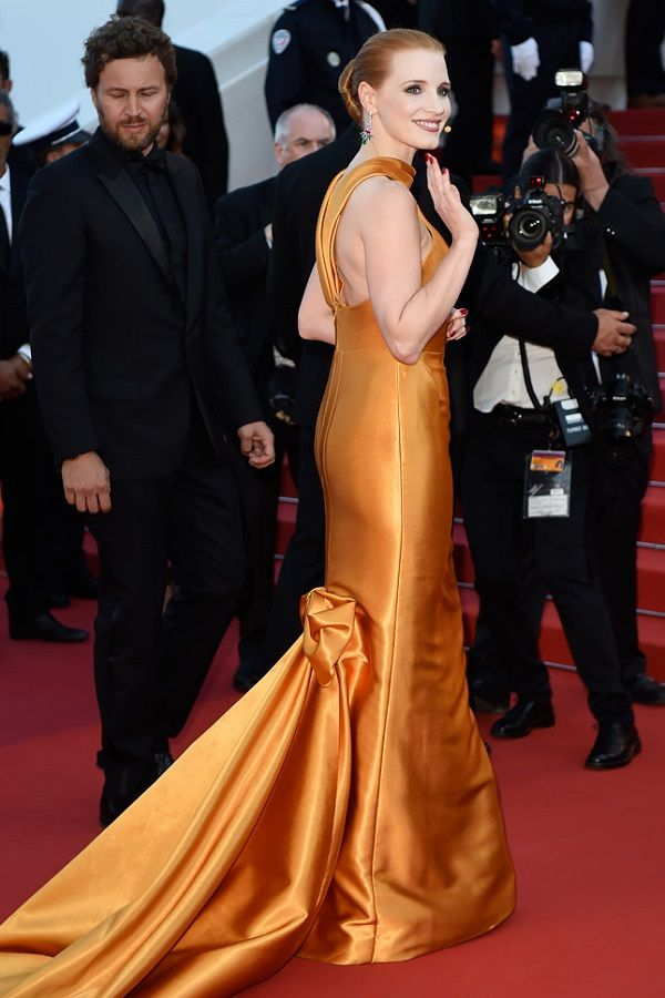 Jessica Chastain Cannes 2017, Джессика Честейн Каннский кинофестиваль 2017