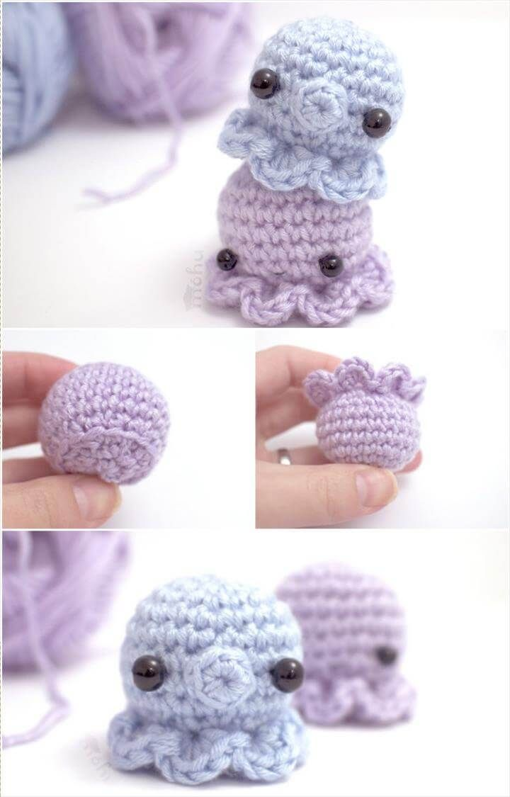 Easy Cube Animals Free Crochet Pattern | Crochet animals free ... | 1125x720