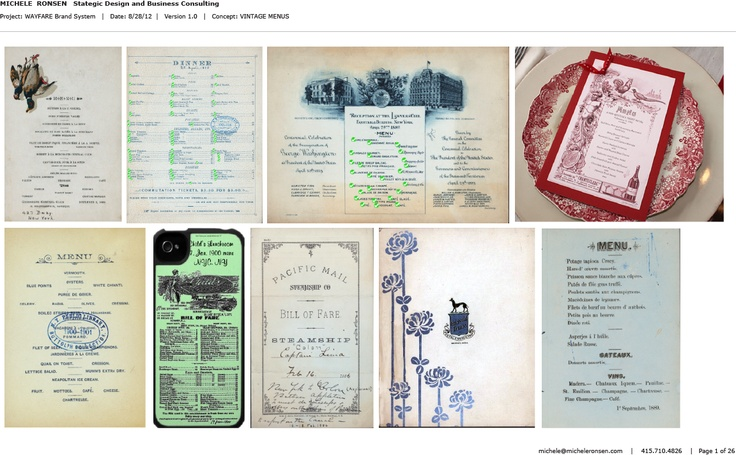 17 Best Images About Food And Menus On Pinterest: 17 Best Images About VINTAGE MENUS On Pinterest