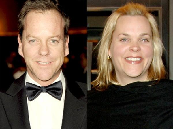 Kiefer & Rachel Sutherland from Celebrity Twins