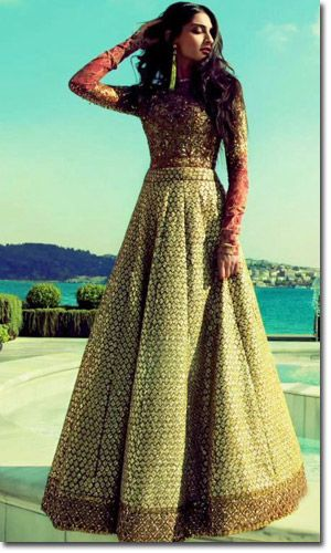 Sabyasachi...Dont know what it is, but there is just something I love about this!.