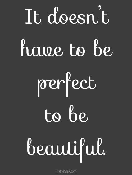 it doesn't have to be perfect to be beautiful #idhtbptbb  :: Why my home looks worse than yours in real life