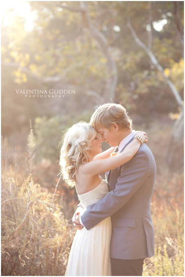 wedding pose & light, love this except with us looking at each other