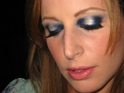 Makeup tutorial trucco Blue Moon Click here: http://makeuptutorialsandtips.com/?p=400