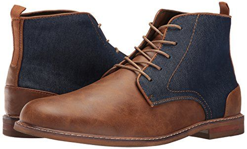 Call It Spring Men's Venya Chukka Boot, Cognac, 9 D US