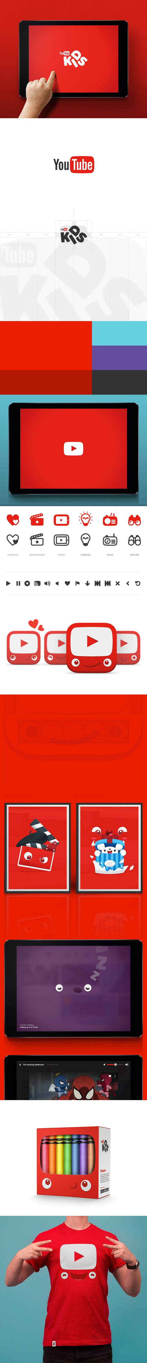 YouTube Kids brand by Hello Monday