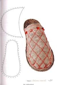 pantoufles pattern
