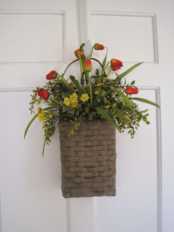 111 best images about flower hanging baskets on pinterest wall basket planters and silk. Black Bedroom Furniture Sets. Home Design Ideas