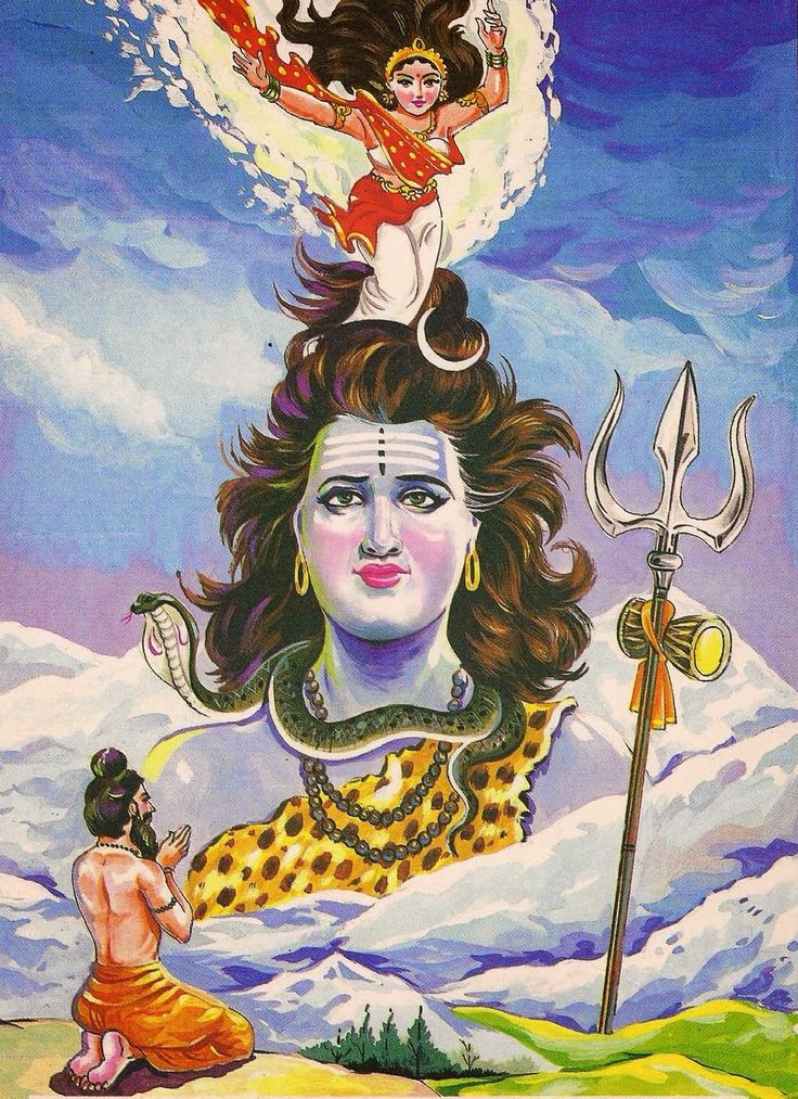 ganga and shiva relationship