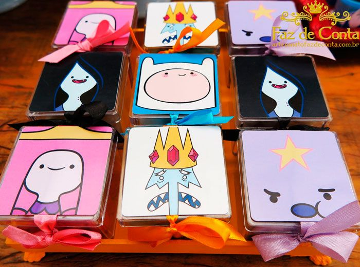 Adventure Time Party ⚜ party favors